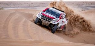 Post de El vacile de Jesús Calleja a Alonso antes del Dakar:
