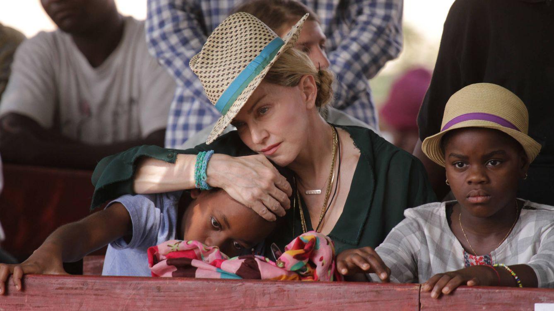 Foto: La cantante Madonna junto a sus hijos en una imagen de archivo (Gtres)