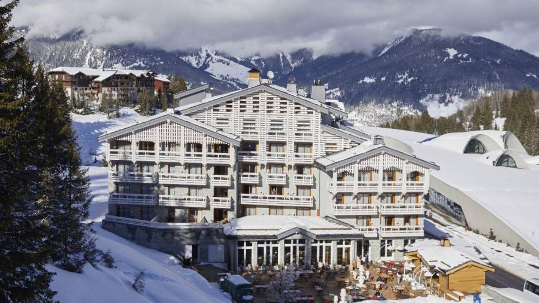 El resort Écrin Blanc, en el blanco, alpino y lujoso Courchevel. (Cortesía)