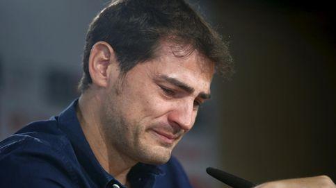 Las lágrimas de Iker Casillas en su despedida del Real Madrid