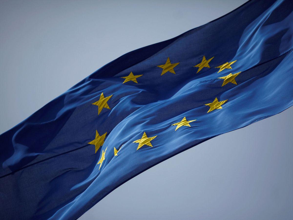 Foto: La bandera de la UE. (Reuters)