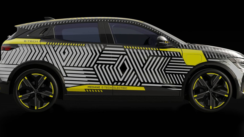 El Renault Mégane E-Tech Electric emplea la nueva plataforma CMF-EV y llegará a los concesionarios en 2022.