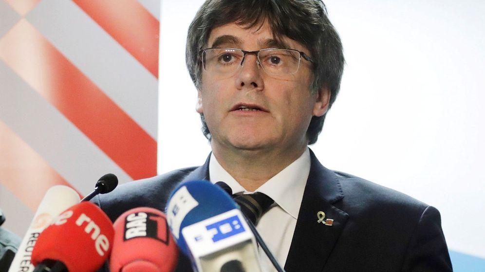 Foto: Carles Puigdemont en Bélgica. (EFE)