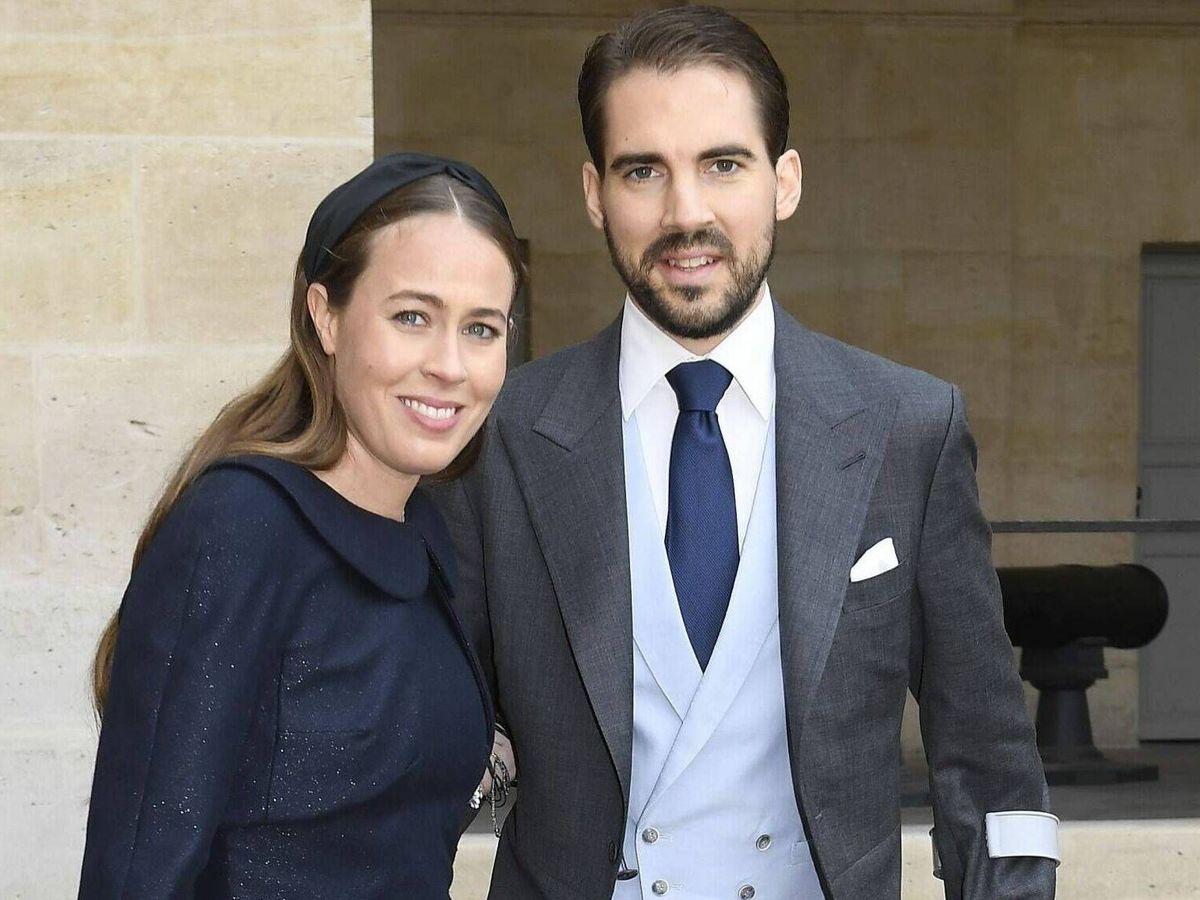 Foto: El príncipe Philippos y Nina Flohr. (CP)