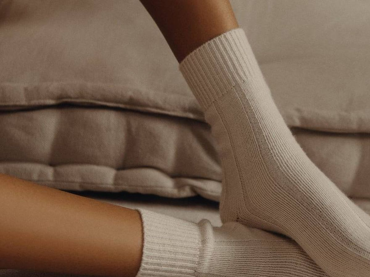 Foto: La nueva propuesta de calcetines de Zara. (Cortesía)