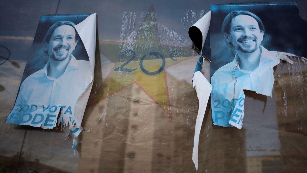 Foto: Carteles electorales para el 20-D. (EFE)
