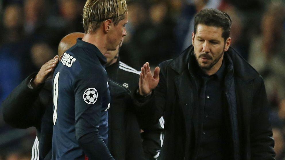 Fernando Torres dice lo que Simeone piensa: El árbitro no estuvo a la altura