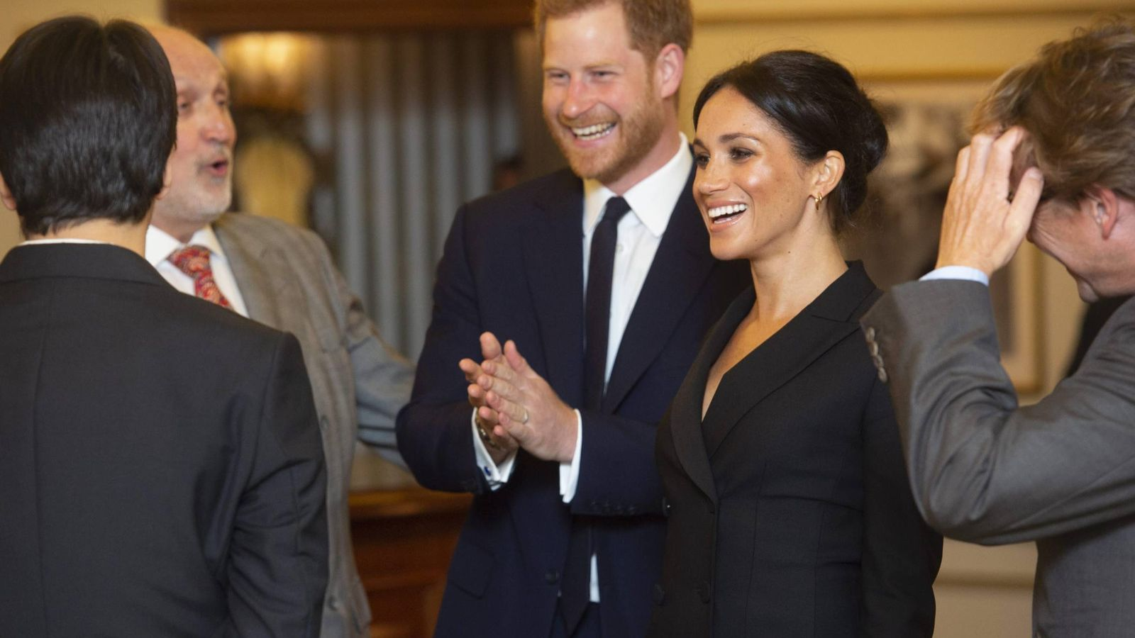 Foto: Meghan y Harry. (Cordon Press)
