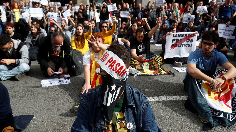 Protestas en Barcelona. (Reuters)