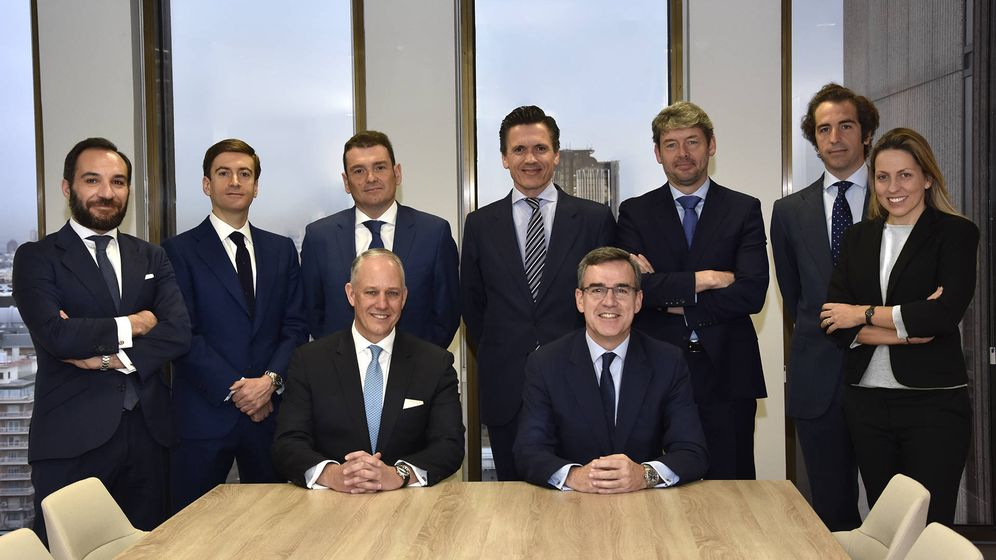 Foto: Equipo directivo de la nueva Colliers International tras la integración de Irea.
