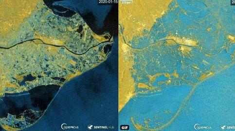 Catástrofe histórica en el delta del Ebro: desaparecen bajo el agua 3 km de tierra