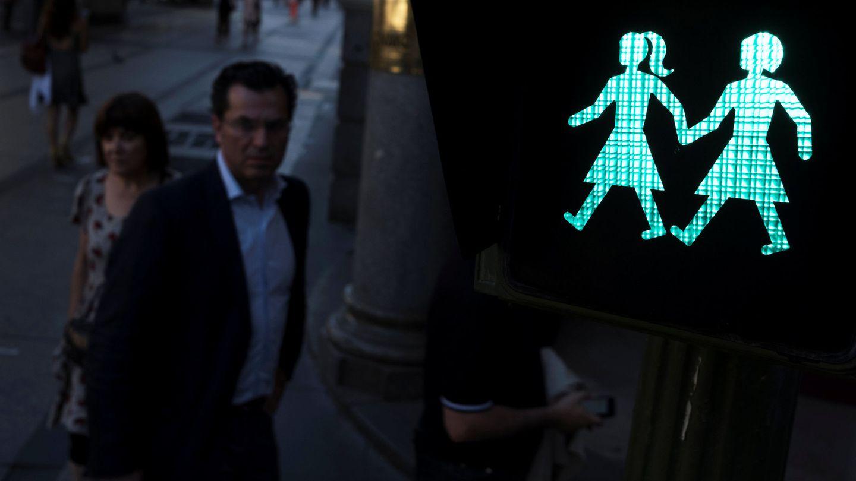 Madrid instala semáforos inclusivos coincidiendo con la celebración del World Pride. (Reuters)
