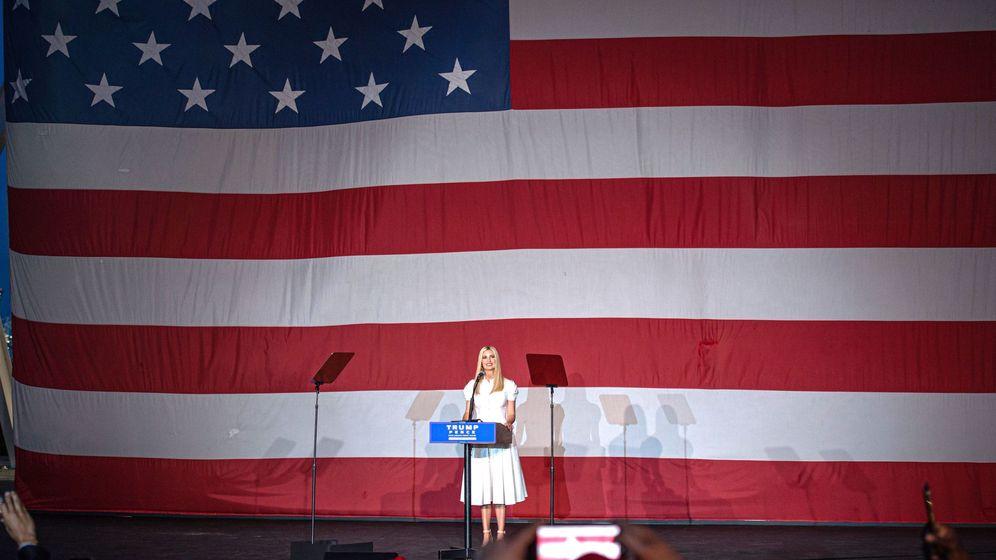 Foto: Ivanka Trump, hija y asesora del presidente y candidato republicano a la presidencia. (EFE)