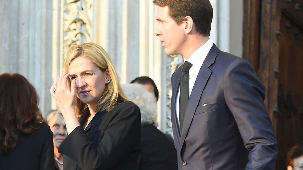 Las lágrimas de Simeón de Bulgaria tras el abrazo de la infanta Cristina