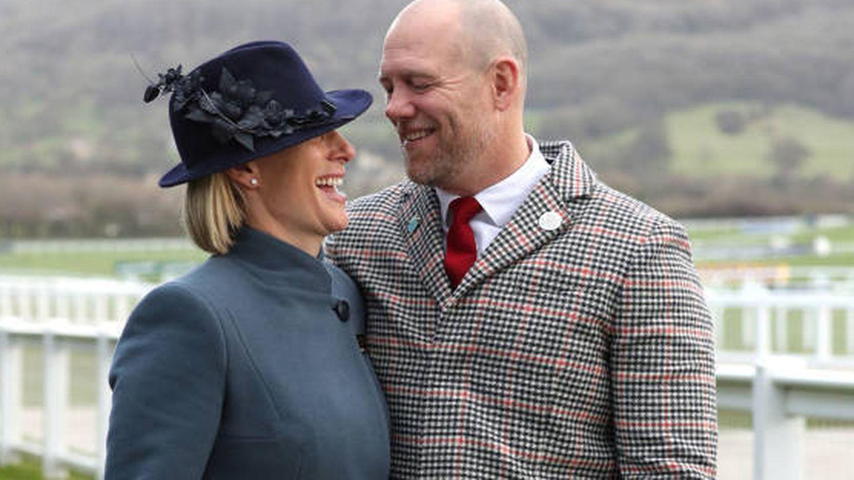 Zara y Mike Tindall, en una imagen de archivo. (Reuters)