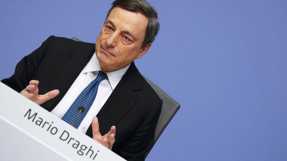 Foto: Draghi en la última rueda de prensa. (Reuters)