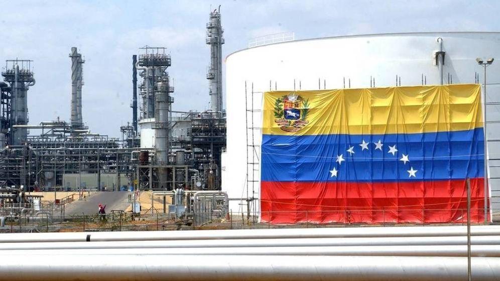 Foto: Refinería de petróleo en Venezuela.