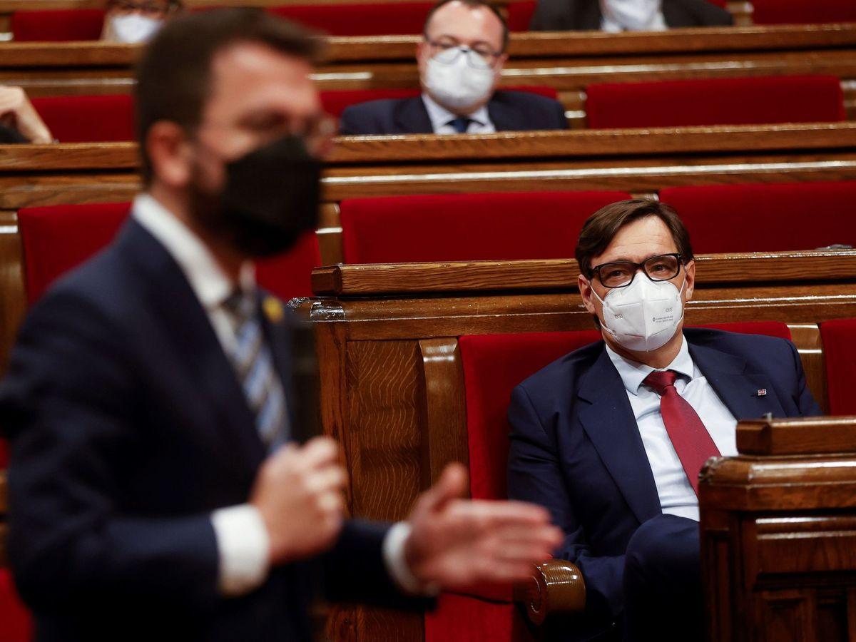 Foto: El vicepresidente del Govern en funciones, Pere Aragonès. (EFE)
