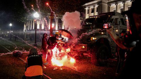 Ha sido un regalo: los disturbios en EEUU que pueden provocar la reelección de Trump