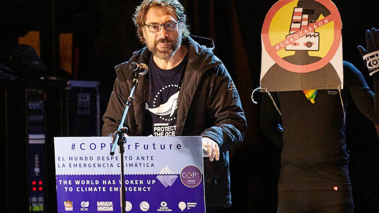 Javier Bardem: discurso junto a Greta Thumberg, insulto a Almeida y una disculpa