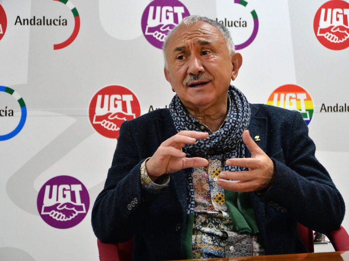 Foto: Pepe Álvarez, secretario general de UGT. (José Antonio Ortega)