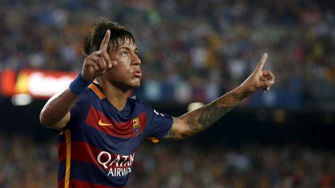 Neymar vuelve a escena ante la peligrosa visita del 'molesto' Málaga