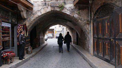 Callejón aislado en Aleppo