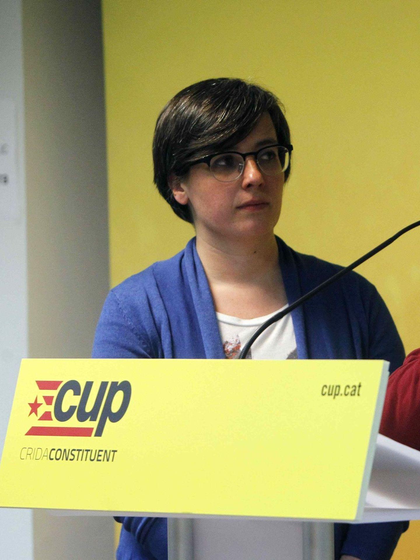 Mireia Boya, de la CUP (EFE)
