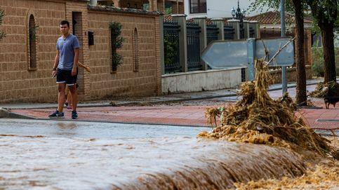 Del rescate de un niño al derrumbe de edificios: la DANA causa estragos en Toledo