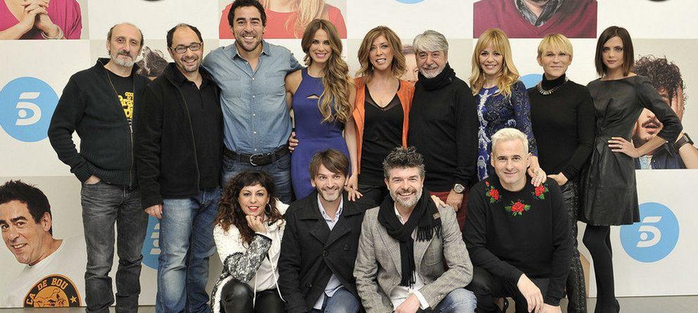 Foto: El elenco de actores de la serie de Telecinco