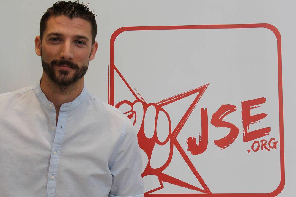 Foto: Omar Anguita, nuevo secretario general de Juventudes Socialistas de España. (JSE)