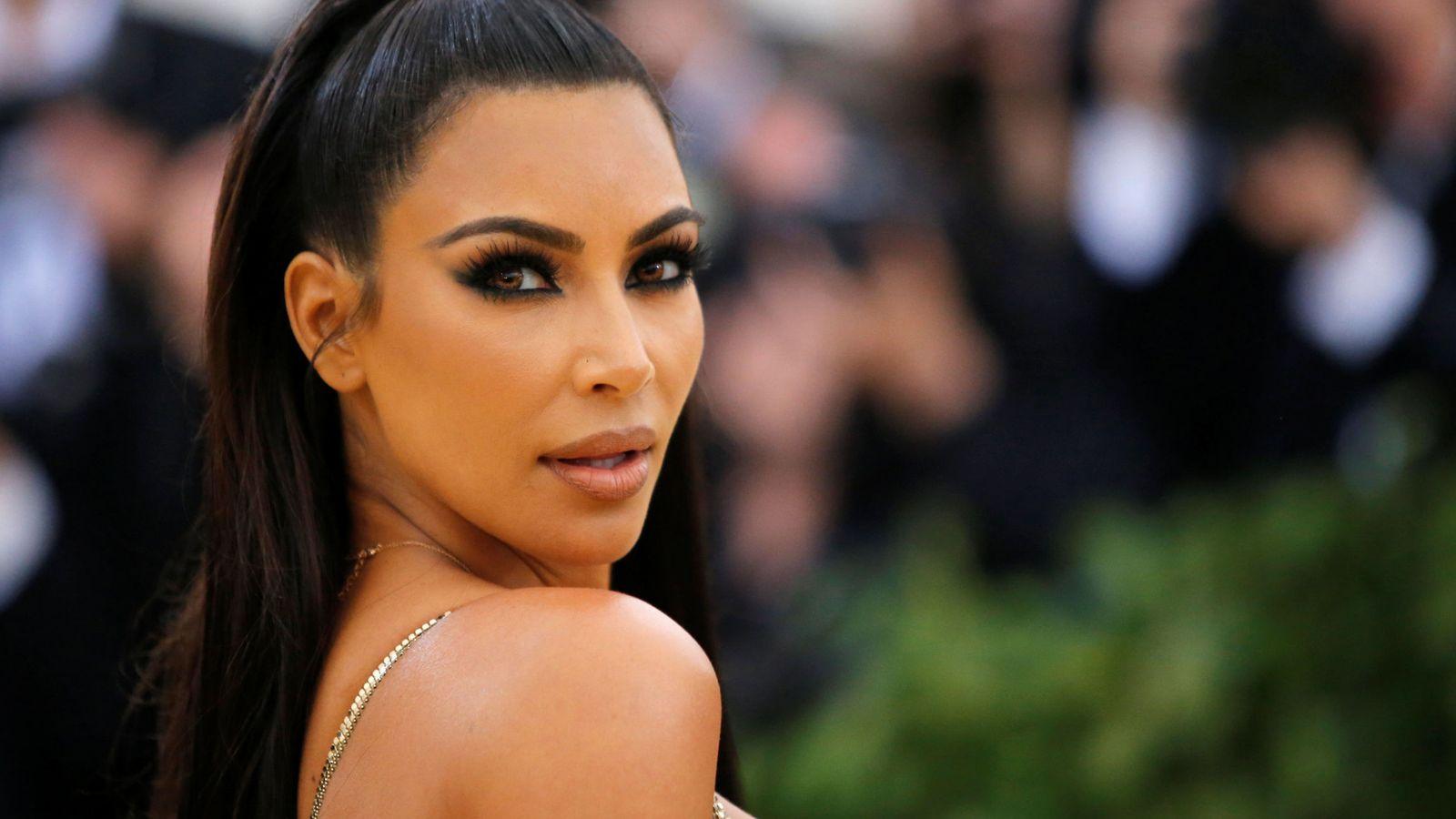 Foto: Kim Kardashian en la MET Gala 2018. (Reuters)