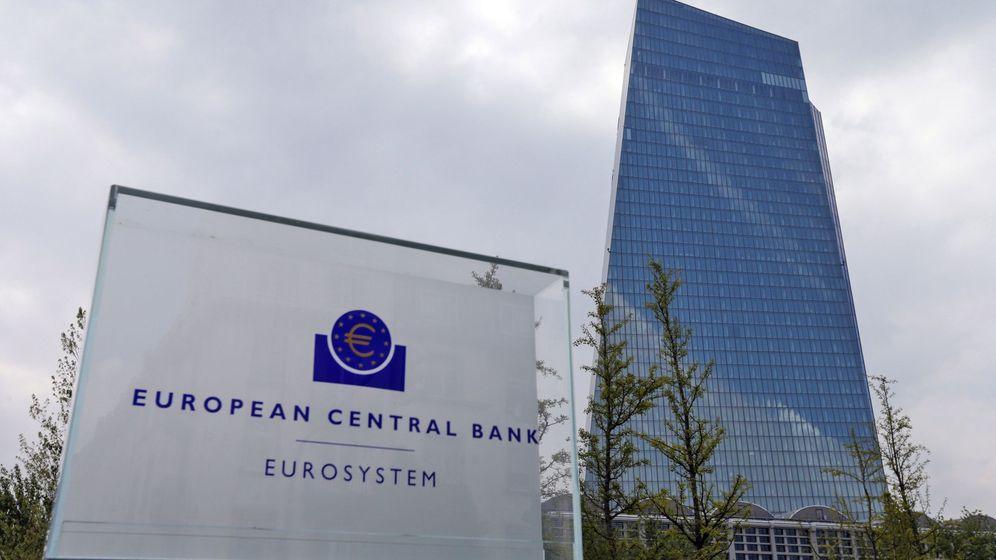 Foto: Vista de la sede del Banco Central Europeo (BCE) en Fráncfort (EFE)