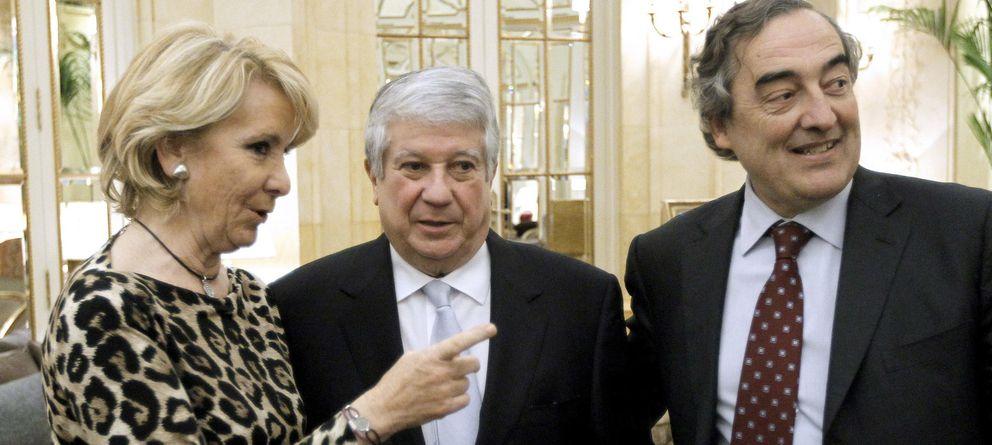 Arturo Fernández, ante González y su esposa: Me gustaría que Lourdes siga