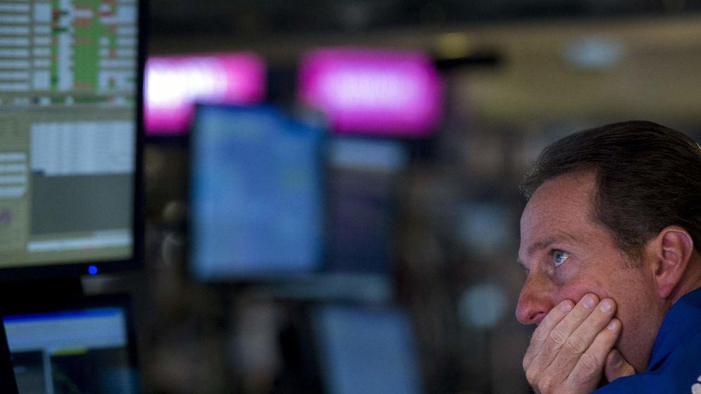 Foto: Nerviosismo en los 'traders'. (Reuters)