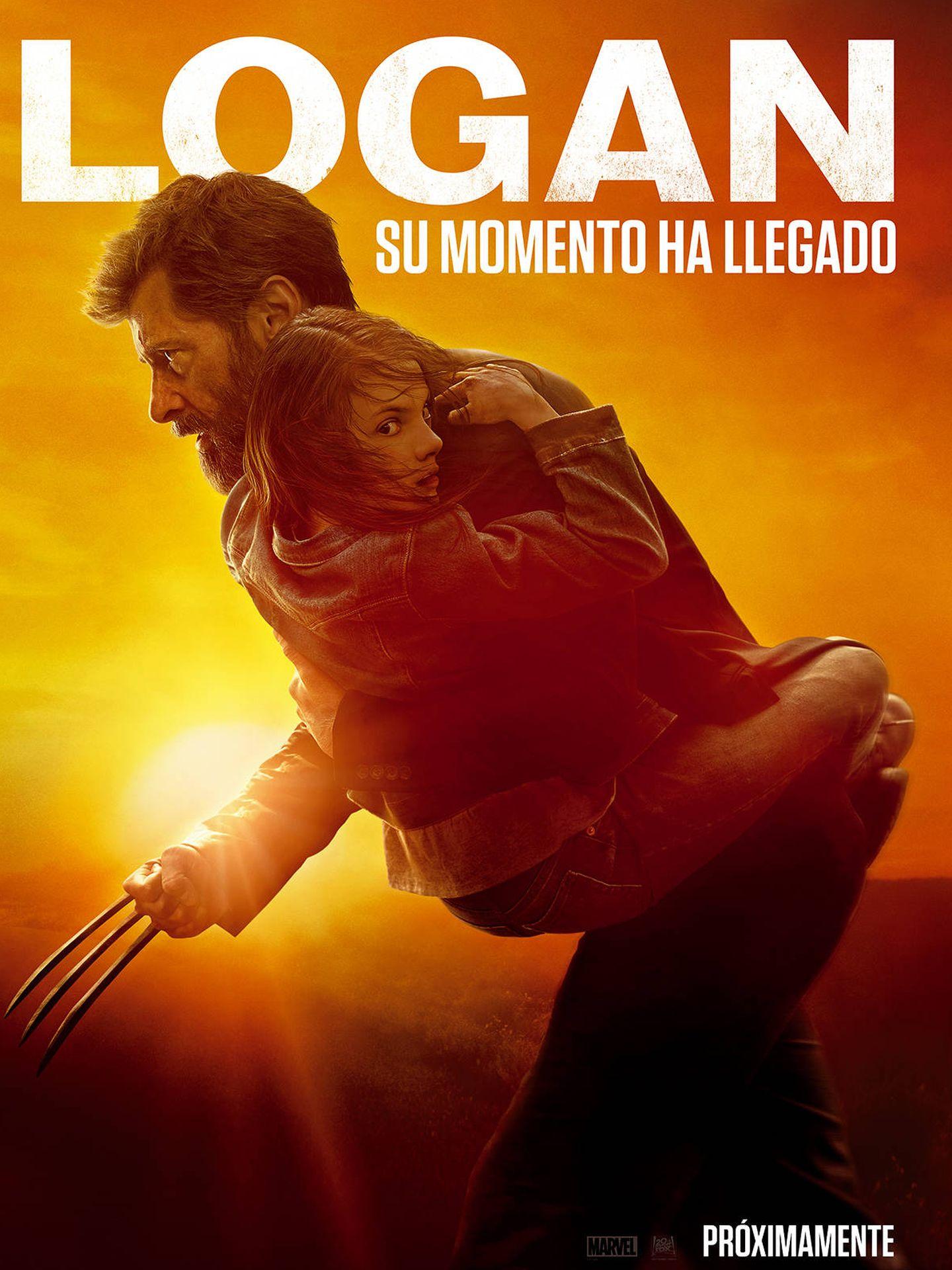 Cartel de 'Logan'.