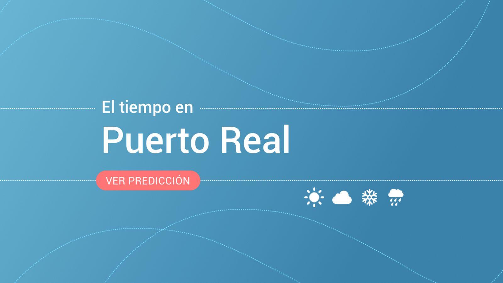 Foto: El tiempo en Puerto Real. (EC)