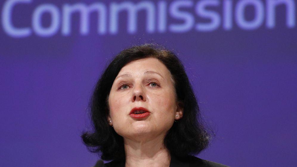 Foto: La vicepresidenta de la comisión, Vera Jourova. (EFE)