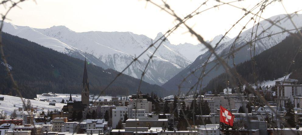 Foto: El municipio de Davos que acoge todos los años el World Economic Forum. (Reuters)
