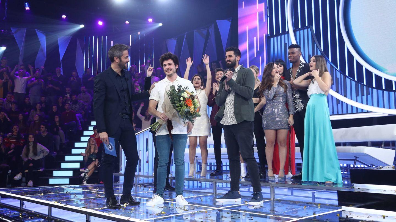 Miki se proclama ganador en la gala OT Eurovisión. (TVE)