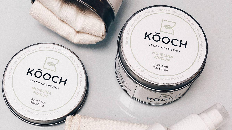 Foto: Muselinas de algodón 100% orgánico. (Cortesía Kóoch Green Cosmetics)