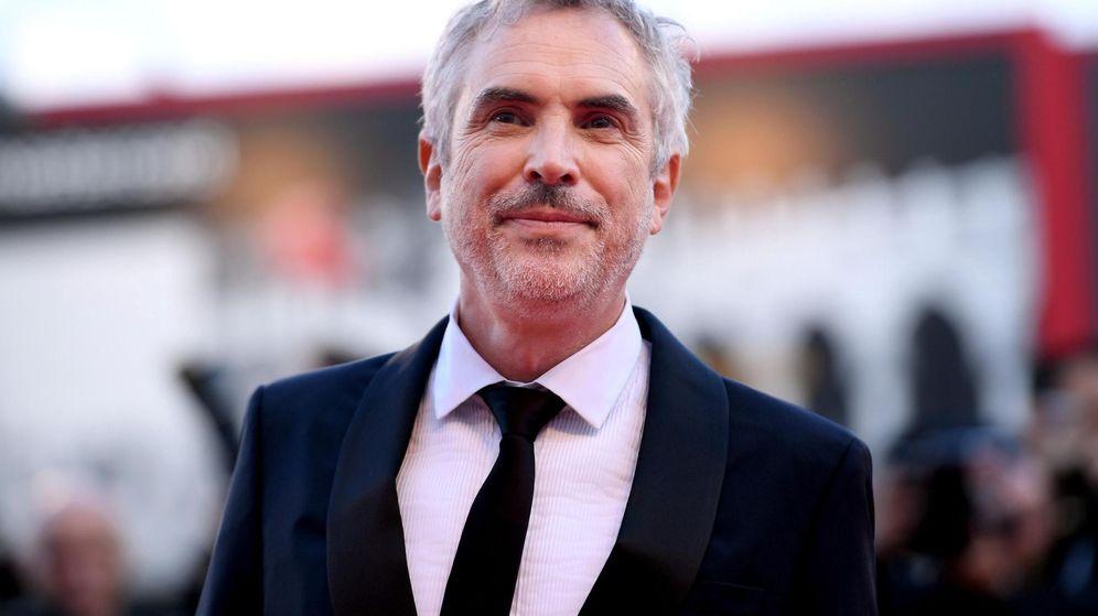 Foto: Alfonso Cuarón durante el estreno de 'Roma' en el 75 Festival de cine de Venecia