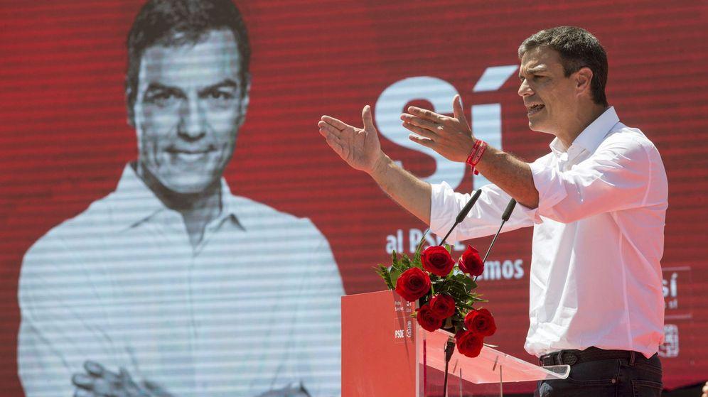 Foto: El ex secretario general del PSOE y candidato a las primarias, Pedro Sánchez. (EFE)