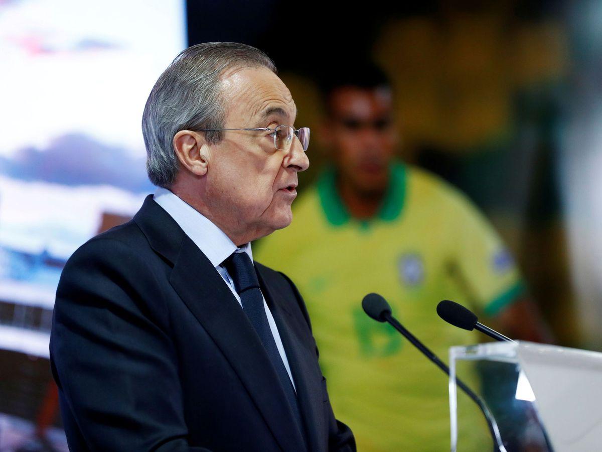 Foto: El presidente del Real Madrid, Florentino Pérez. (Reuters)