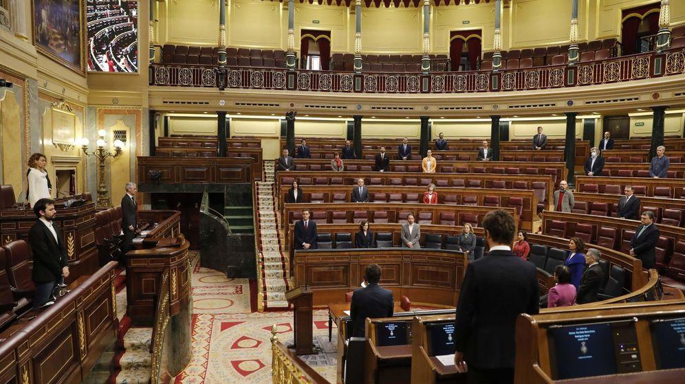 Foto: La última sesión de control al Gobierno en el Congreso. (EFE)