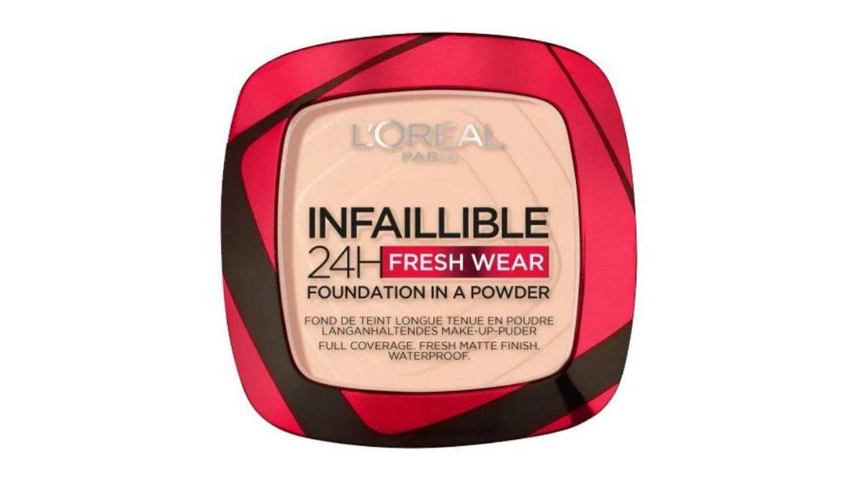 Infalible 24 Fresh To Wear Base de Maquillaje Compacto de L'Oréal.