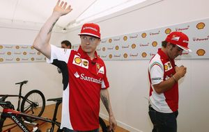 ¿Y si Alonso ha pateado el árbol y Raikkonen se llevara las nueces?