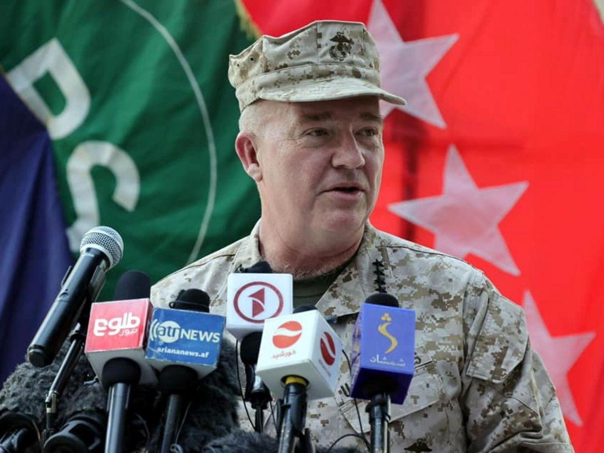 Foto: El jefe del Mando Central de EEUU, el general Kenneth F. McKenzie. (EFE)