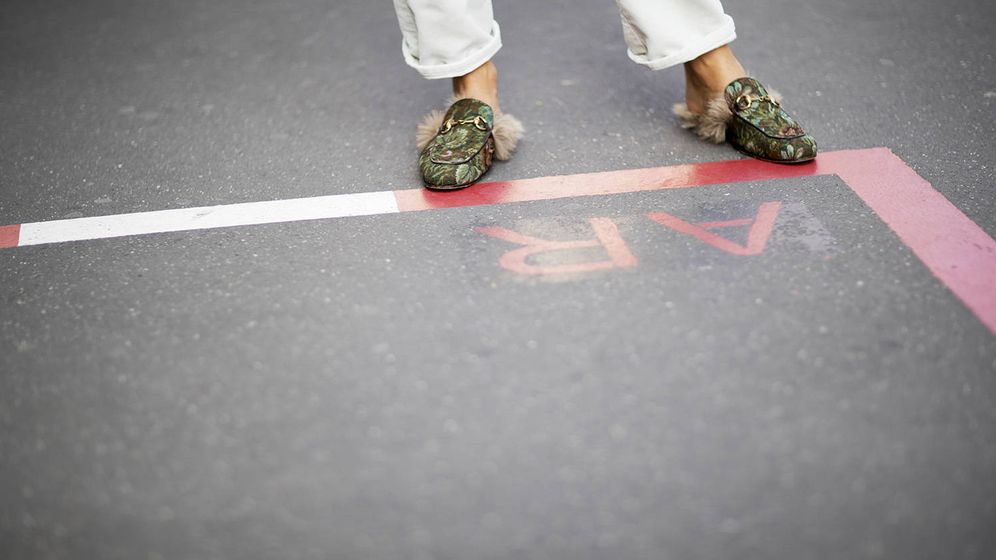 Foto: Los zapatos 'feos' también son tendencia. (Foto: Imaxtree)