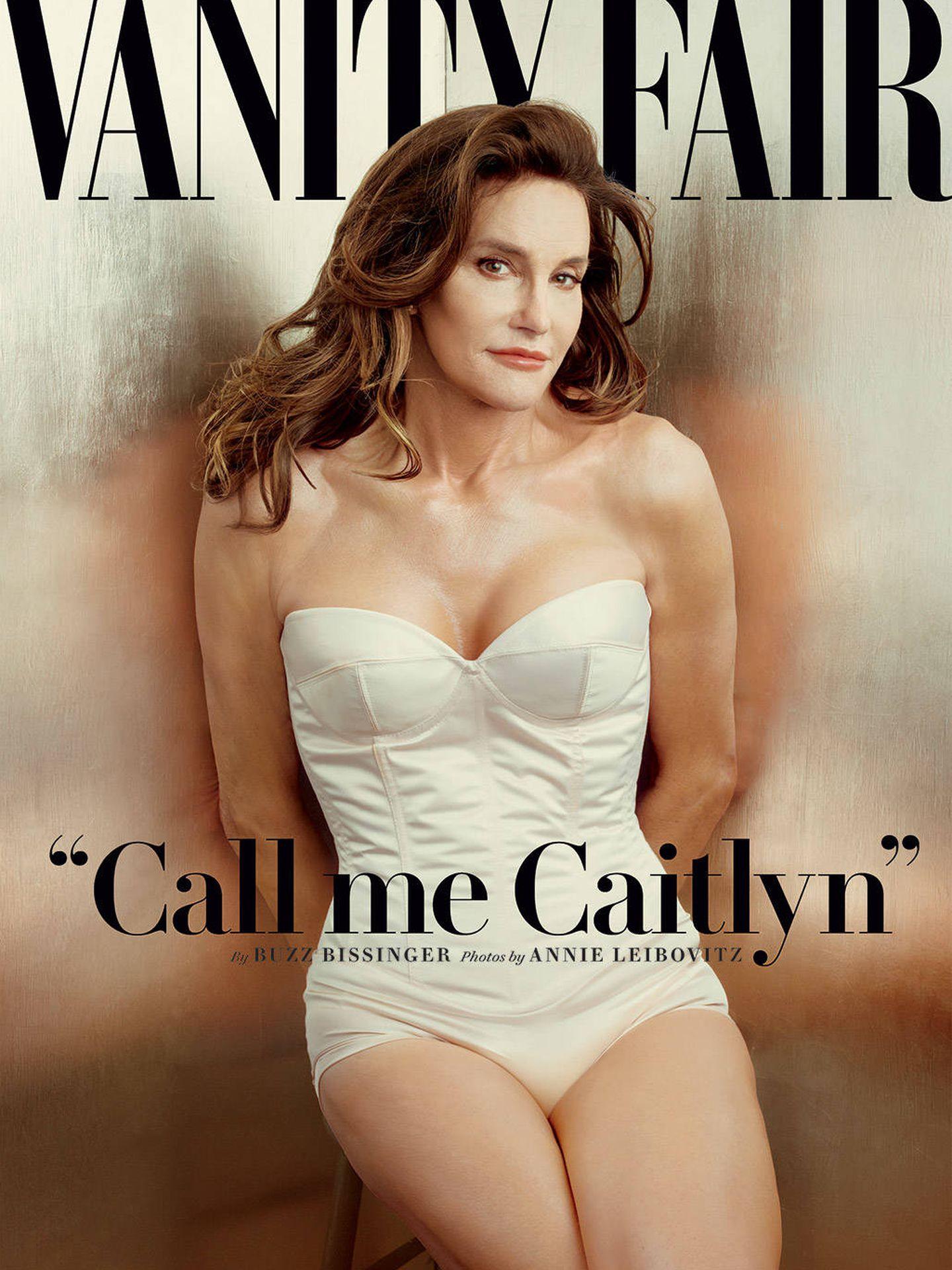 Portada de la revista 'Vanity Fair' cuando se presentó Caitlyn en sociedad.